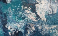 Jo Wakefield – Blue turquoise textures